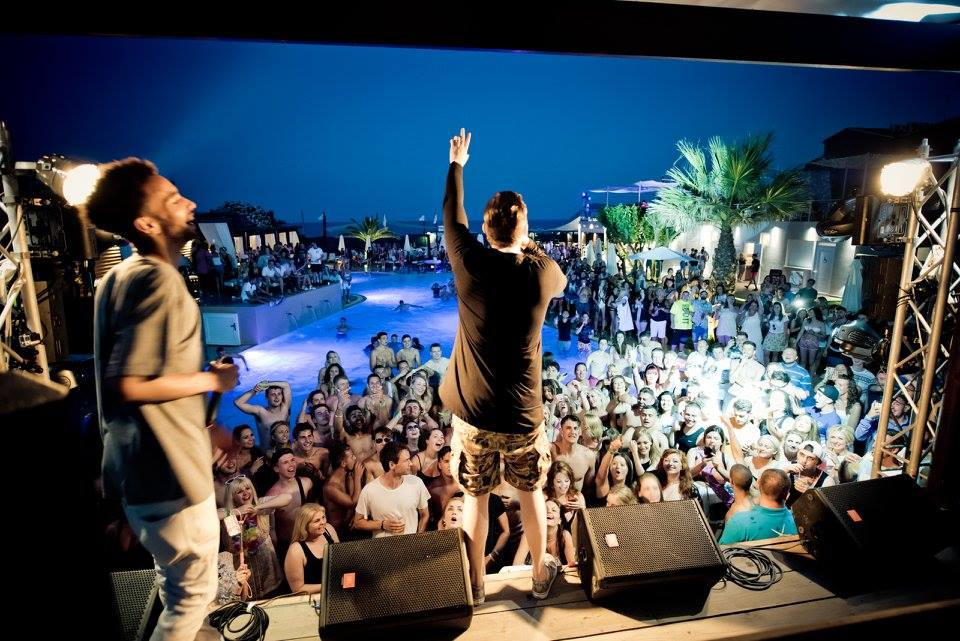 republic beach white party zante