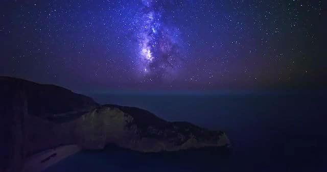 shipwreck beach zante night